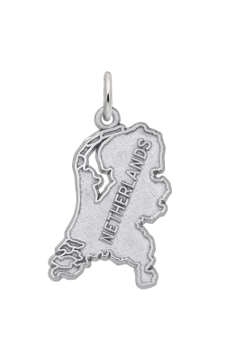 Rembrandt Charms Nethernlands Map Charm 1876 product image