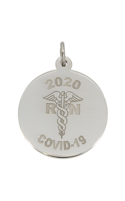 Rembrandt Charms Covid-19 Rn Caduceus Charm 7541 product image