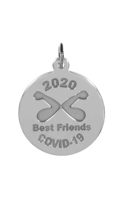 Rembrandt Charms Covid-19 Best Friends Elbow Bump Charm 7542 product image
