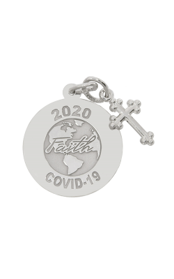 Rembrandt Charms Covid-19 World Faith Charm 7544-001 product image