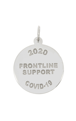 Rembrandt Charms Covid-19 Frontline Support Charm 7548 product image
