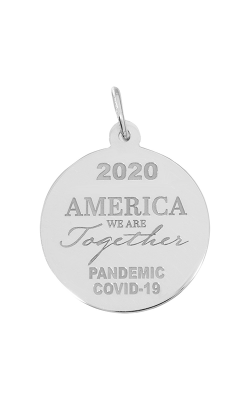 Rembrandt Charms Covid-19 America We Are Together Charm 7549 product image