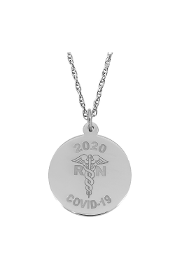 Rembrandt Charms Covid-19 Rn Caduceus Necklace Set 7541-0087 product image