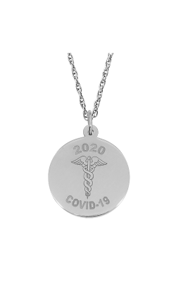 Rembrandt Charms Covid-19 Caduceus Necklace Set 7543-0087 product image