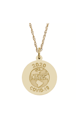 Rembrandt Charms Covid-19 World Faith Necklace Set 7544-0087 product image
