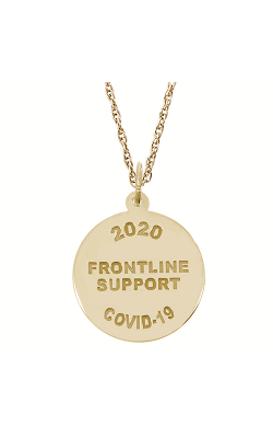 Rembrandt Charms Covid-19 Frontline Support Necklace Set 7548-0087 product image