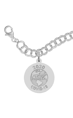 Rembrandt Charms Covid-19 World Faith Bracelet Set 7544-0117 product image