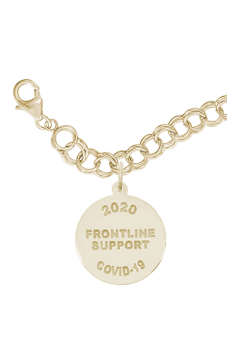 Rembrandt Charms Covid-19 Frontline Support Bracelet Set 7548-0117 product image