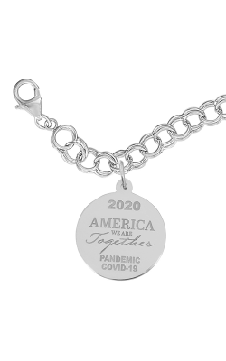 Rembrandt Charms Covid-19 America We Are Together Bracelet Set 7549-0117 product image