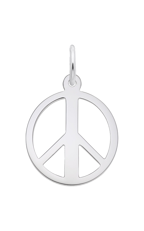 Jewelry Adviser Charms Sterling Silver Praying Hands Charm