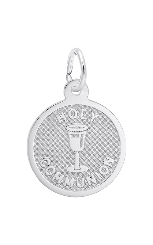 Jewelry Adviser Charms Sterling Silver My Confirmation Disc Charm