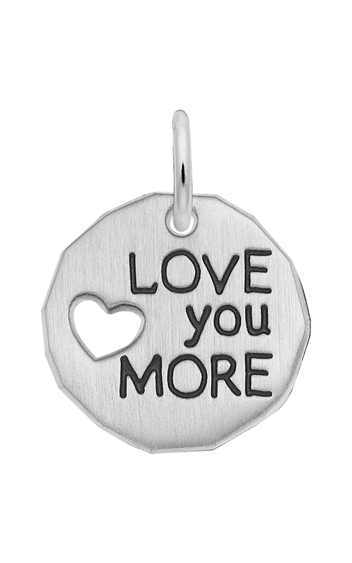 Rembrandt Charms Love You More Charm Tag 1558 product image