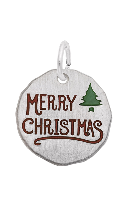 Rembrandt Charms Merry Christmas Charm Tag 1634 product image