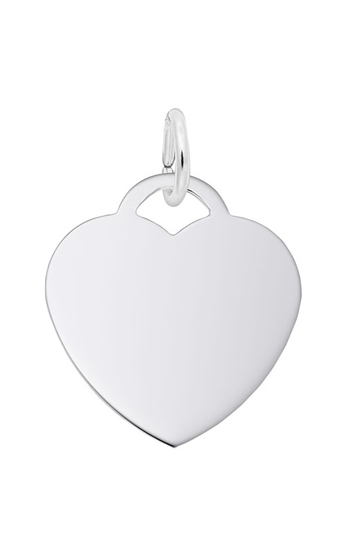 Rembrandt Charms Medium Heart 50 Series Charm 8421 product image