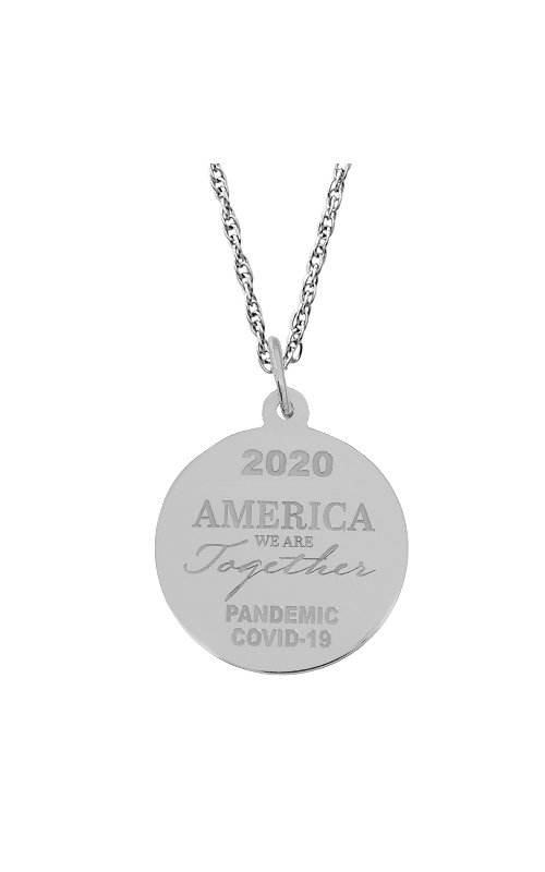 Rembrandt Charms Covid-19 America We Are Together Necklace Set 7549-0087 product image