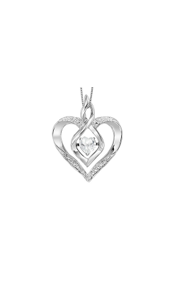Rhythm of Love Pendants Necklace ROL1165WT product image