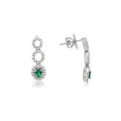 Roman and Jules Earrings GE2047WYEM-18K product image