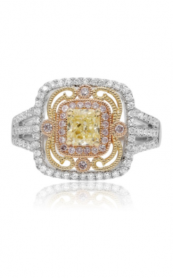 Roman And Jules Yellow Label Engagement Ring UR1547WYR-18K-2 product image