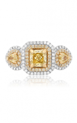 Roman and Jules Yellow Label Engagement ring KR2295WY-18K product image