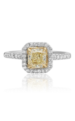 Roman and Jules Yellow Label Engagement ring KR3561WY-18K product image