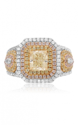 Roman and Jules Yellow Label Engagement ring KR3692WRY-18K product image