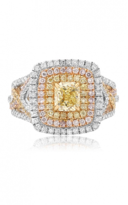 Roman and Jules Yellow Label Engagement ring KR3912WYR-18K product image