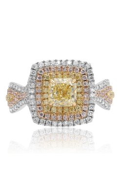 Roman and Jules Engagement Ring KR3907WY-18K product image