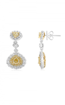 Roman And Jules Yellow Label Earrings NE657-4 product image