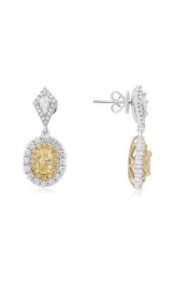 Roman And Jules Yellow Label Earrings NE872-1 product image