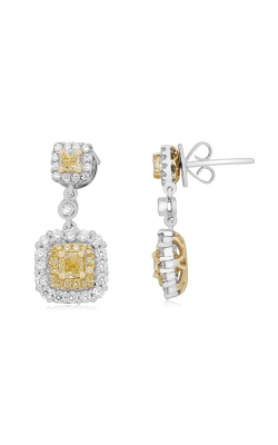 Roman And Jules Yellow Label Earrings NE754-1 product image