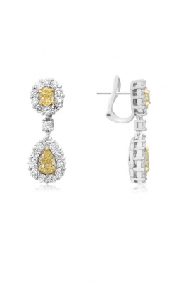 Roman And Jules Yellow Label Earrings NE671-2 product image