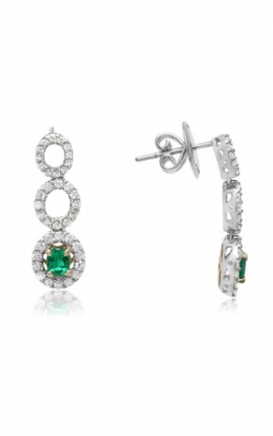 Roman And Jules Color Label Earring GE2047WYEM-18K product image