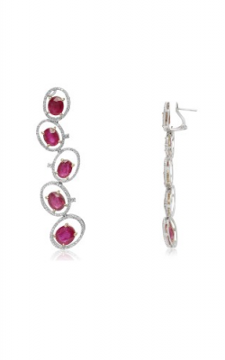 Roman and Jules Color Label Earring ME607A-1 product image