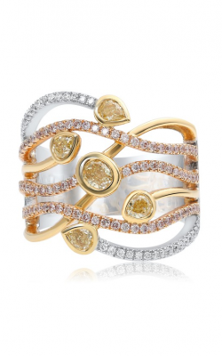 Roman and Jules Yellow Label Fashion ring FR251WRY-18K product image