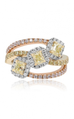 Roman And Jules Yellow Label Fashion Ring KR5046WRY-18K-3 product image