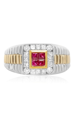 Roman And Jules Color Label Ring UR1408WYRB product image