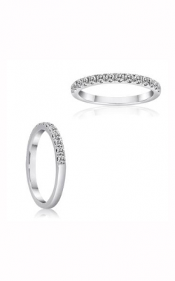 Roman And Jules KR5280W-WB 14K White Gold Wedding Band product image