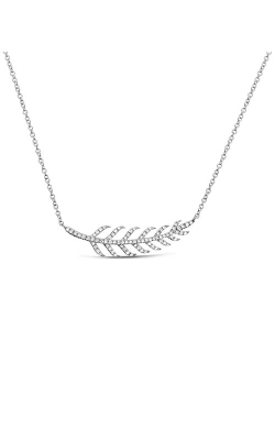 Roman And Jules Diamond Pave Leaf Necklace EN1034-1 product image