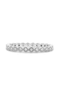 Roman And Jules White Diamond Milgrain Eternity Band UR1963-18 product image