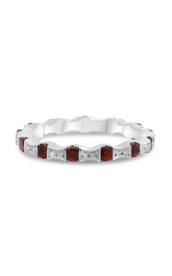 Roman And Jules White Gold Ruby & Diamond Eternity Band NR988-9 product image