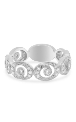 Roman and Jules Swirling Milgrain Diamond Band UR2164-3 product image