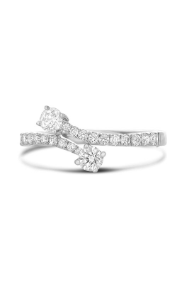 Roman And Jules White Gold & Diamond Bypass Ring UR1951-1 product image