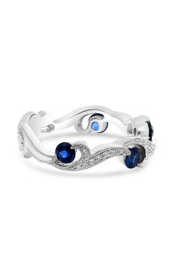 Roman And Jules White Gold Sapphire & Diamond Filigree Ring NR1071-1 product image