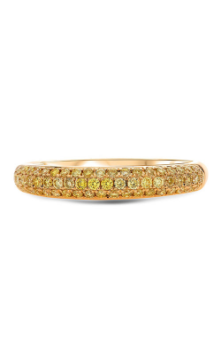 Roman And Jules Three Row Yellow Diamond Band KR2507Y-WB product image