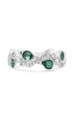 Roman and Jules Paisley Emerald & Diamond Band NR1051-3 product image