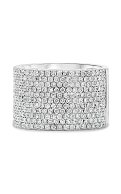 Roman And Jules White Gold Round Diamond Pave Band KR5944-1 product image