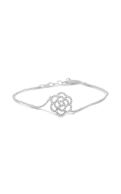 Roman And Jules Diamond Pave Flower Bracelet EB1011-1 product image