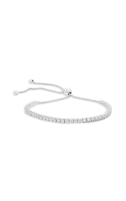 Roman and Jules Round White Diamond Slider Bracelet UB2091D-1 product image