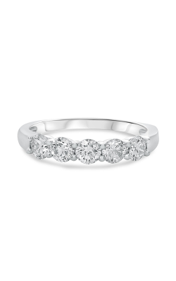 Roman And Jules White Gold Five Stone Diamond Band UR2009-2 product image