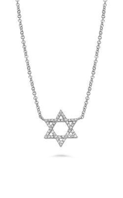 Roman And Jules Iamond Star Of David Necklace EN1098-1 product image